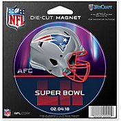 WinCraft Super Bowl LII Bound New England Patriots Magnet