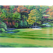 Golf Gifts & Gallery Augusta 11th Hole Canvas Photo